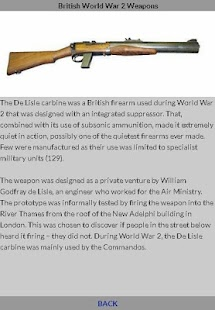 World War 2 British Weapons - náhled