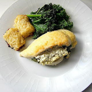 Spinach & Goats Cheese Stuffed Chicken Breast Recipe