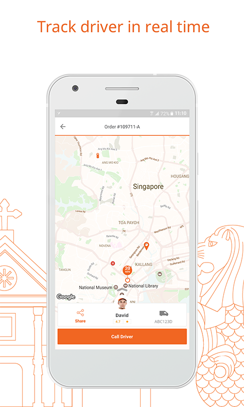 Lalamove Delivery App- screenshot