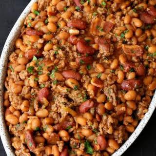 Buddah's Baked Beans.