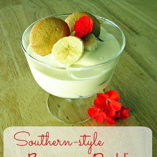 Southern Style Banana Pudding.