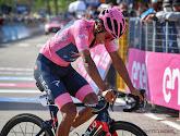 """Bernal krijgt tik van 'sterke' Yates maar houdt het overzicht: """"Of ik Giro met 1 seconde of 2 minuten win, dat is hetzelfde"""""""