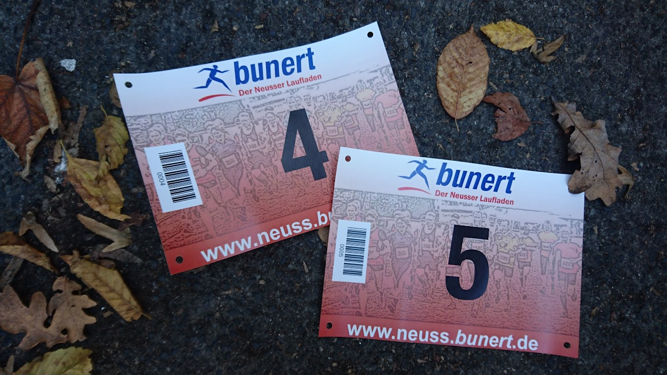 Korschenbroicher Waldlauf Startnummer