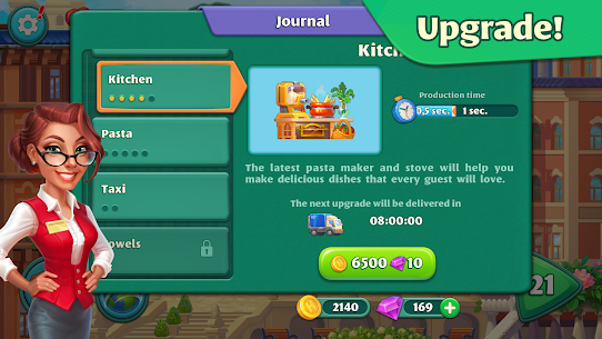 Grand Hotel Mania (MOD, Unlimited Coins/Crystals) 4