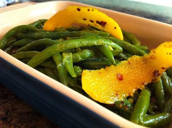 Green Beans With Chili-orange Oil Recipe