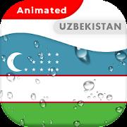 Uzbekistan Flag Animated Live Wallpaper