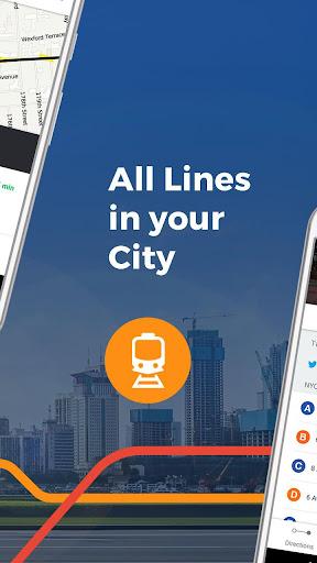 Moovit: Bus Times, Train Times & Live Updates screenshot