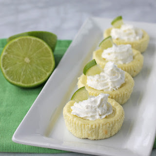 Key Lime Cheesecake Cups.
