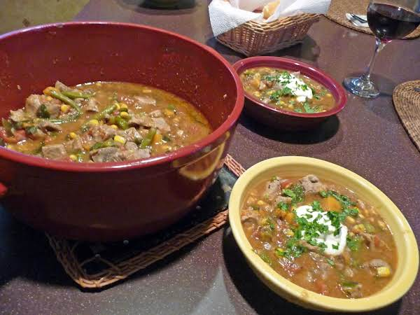 Three Sisters Pork Chile Stew