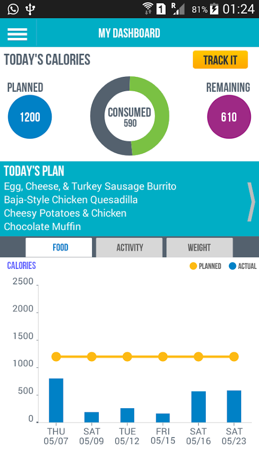 Jenny Craig Mobile- screenshot