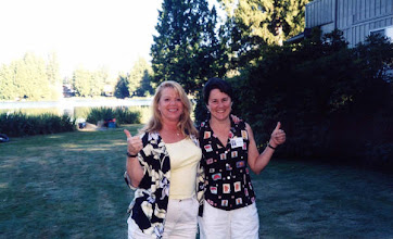 Photo: Picnic Co-Chairs Kathy Buholm and Brenda Brown