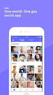 Blued - Gay Chat, Live, Social- screenshot thumbnail