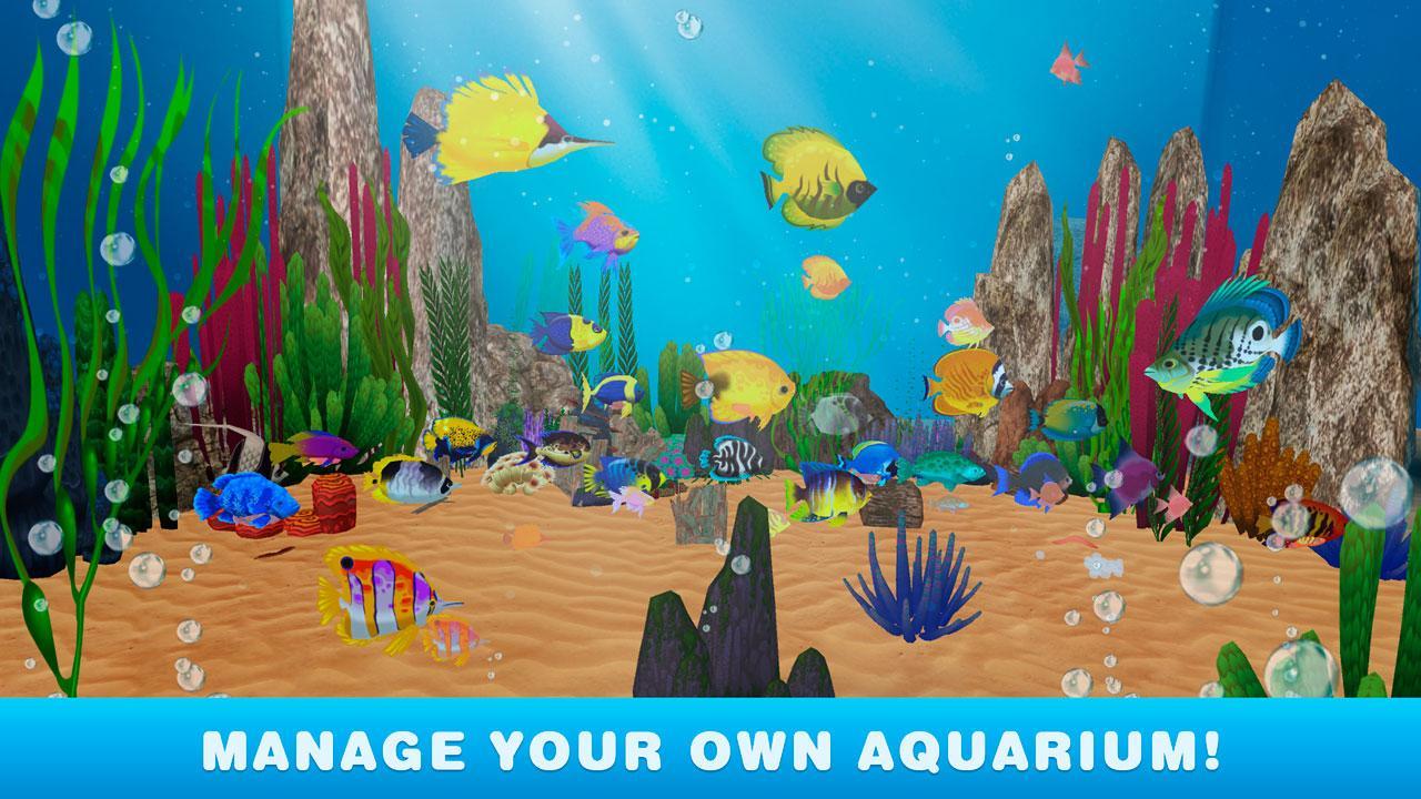 Virtual fish tank aquarium google - My Virtual Aquarium Simulator Screenshot