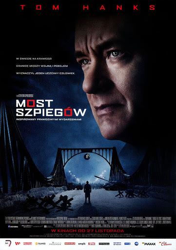 Przód ulotki filmu 'Most Szpiegów'