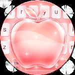 Rose Gold Apple Keyboard Theme