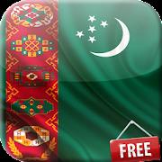 Flag of Turkmenistan Live Wallpaper