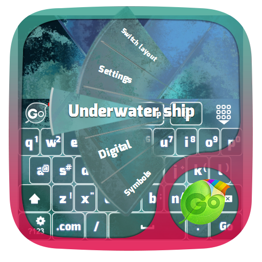潜水船 GO Keyboard 個人化 App LOGO-APP試玩