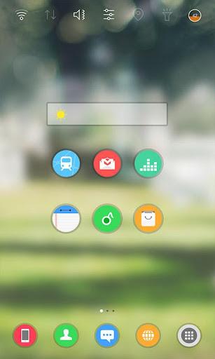 SunnyDay Widgetpack theme