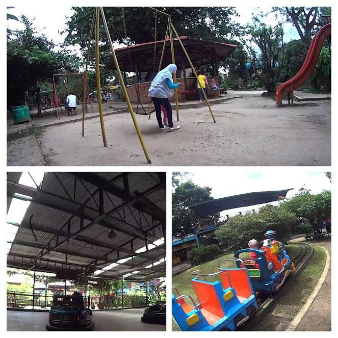 Suasana Taman Topi Kota Bogor