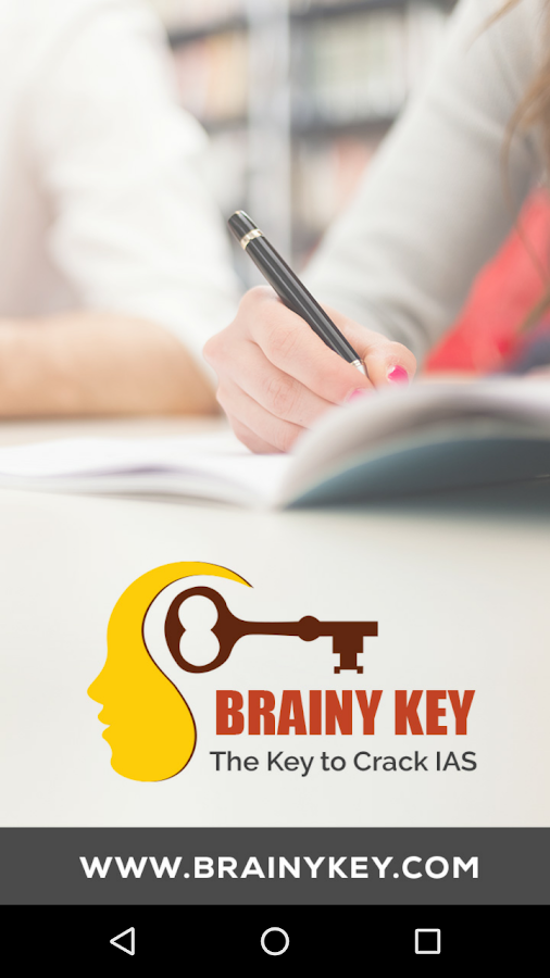 IAS MCQs - Brainy Key- screenshot