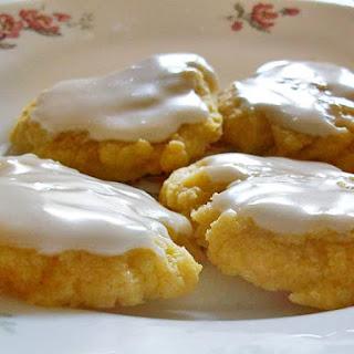 Lemon Iced Butter Cookies
