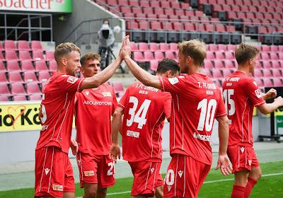 L'Union Berlin mis à l'amende pour une célébration entre joueurs et...supporters