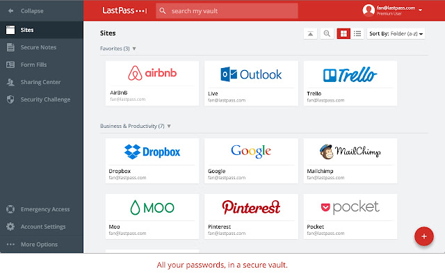 LastPass: Free Password Manager Screenshot