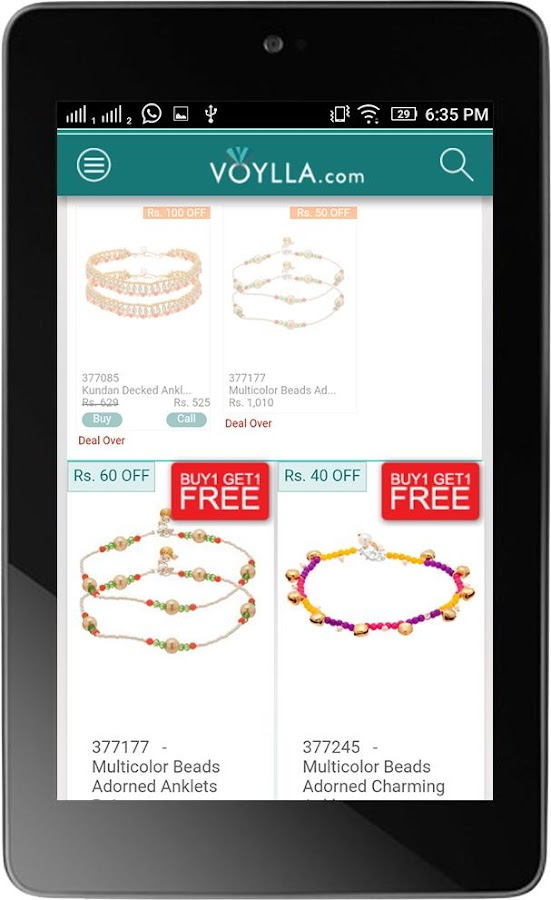 Voylla - Online Shopping- screenshot