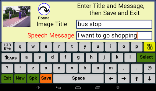 Photo Communicator AAC Lite screenshot 5