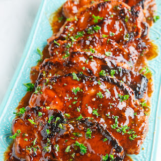 Balsamic Honey and Mustard Pork Chops Recipe