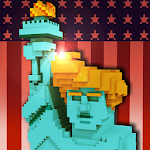 USA Block Craft Exploration 3D Icon