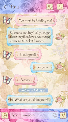GO SMS CLASSIC THEME - screenshot
