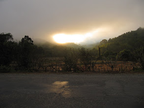 Photo: Day 302 - Sunlight Through the Mist as We Left Kasi