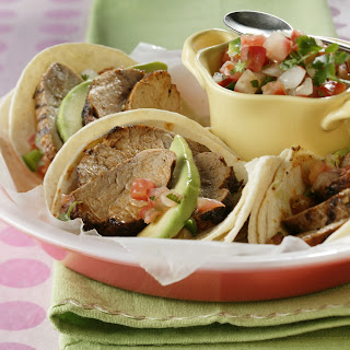 Smoky Pork Tenderloin Tacos Recipe