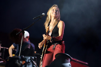 Photo: INDIO, CA - APRIL 29:  Musician Sheryl Crow performs onstage during the Stagecoach Country Music Festival held at the Empire Polo Field on April 29, 2012 in Indio, California.  (Photo by Christopher Polk/Getty Images for Stagecoach)