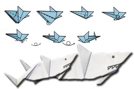 How To Fold Origami Shark Apps On Google Play