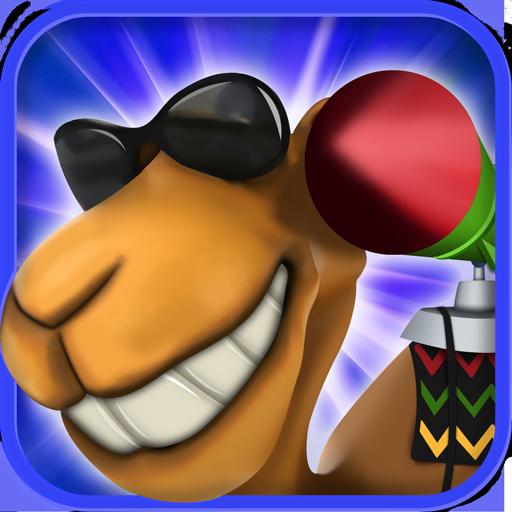 駱駝戰爭遊戲 動作 App LOGO-硬是要APP