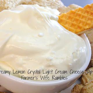 Lemon Cream Cheese Dessert Dip