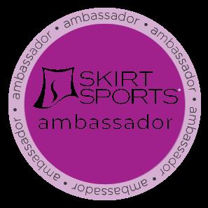 Skirt Sports Badge