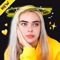 Light Glow Crown Photo Editor - Neon Effect Camera icon