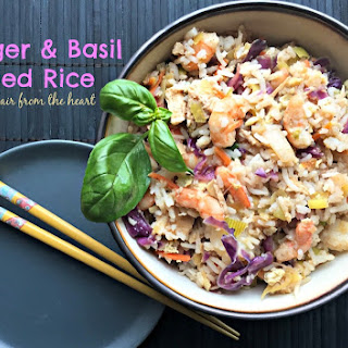 Ginger & Basil Fried Rice.