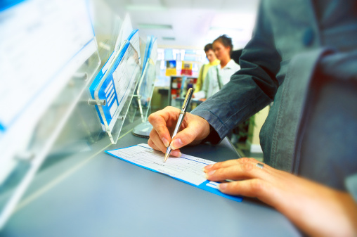 Banking customers. Picture: THINKSTOCK
