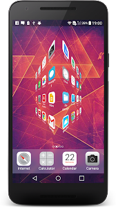 iLauncher OS10 - Theme Phone7 screenshot 4