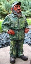 Photo: statue of fidel castro. Tracey Eaton photo.