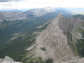 Photo: Seven Sisters from Crowsnest Mountain