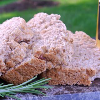 Roasted Garlic + Rosemary Beer Bread.