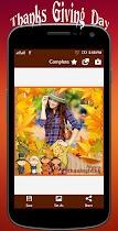 Thanksgiving profile pic Frame - screenshot thumbnail 03