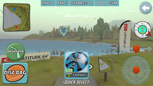 Disc Golf Valley 0.998 screenshots 1