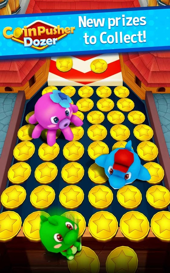 Coin Pusher Dozer- screenshot