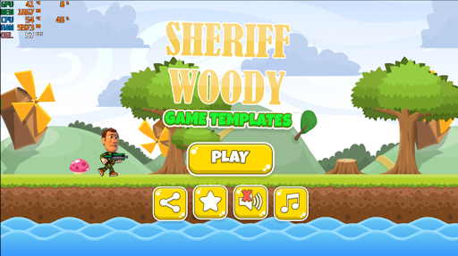 Sheriff Woody Shoot and Run - screenshot